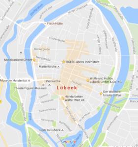 Lübeck Altstadtinsel