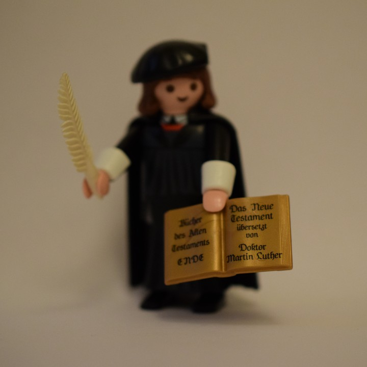 Playmobil Martin Luther