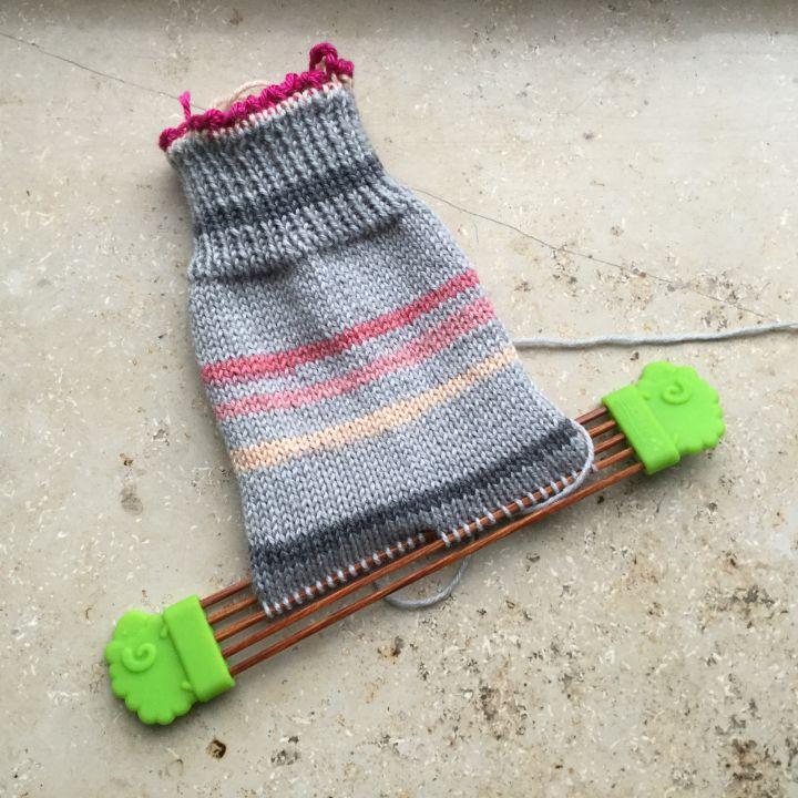 Zwischendurch-Socke