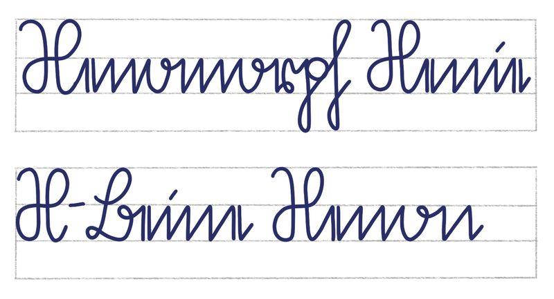 Sütterlin Schreibübung Wörter mit X