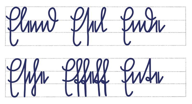 Sütterlinbuchstaben E