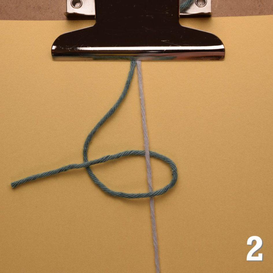 Knoten für Freundschaftsbänder: Rechts-Knoten