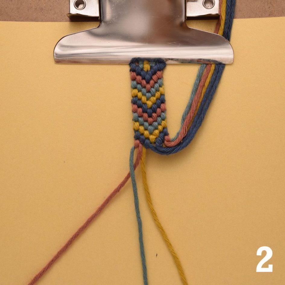 Flechten mit 3 Fäden